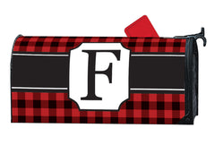 Buffalo Check Monogram F MailWrap