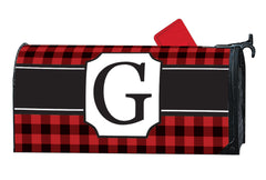 Buffalo Check Monogram G MailWrap