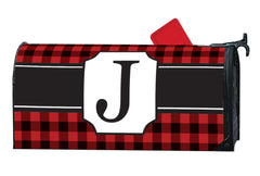 Buffalo Check Monogram J MailWrap