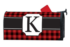 Buffalo Check Monogram K MailWrap