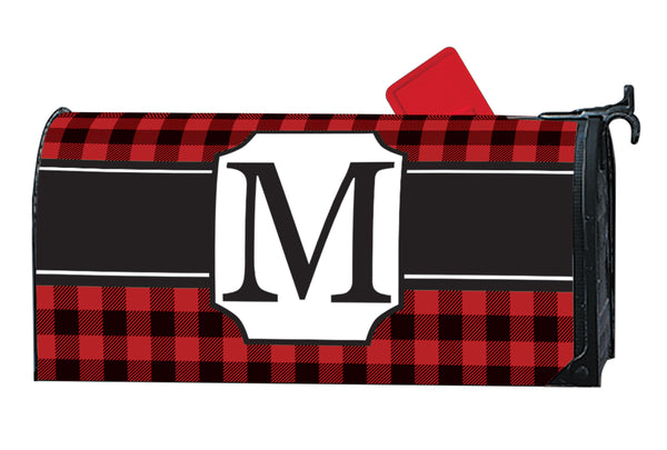 Buffalo Check Monogram M MailWrap