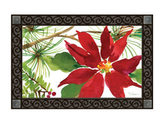 Pretty Poinsettia MatMate