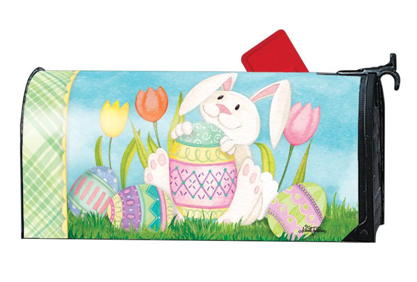 Easter Bunny's Here OS MailWrap
