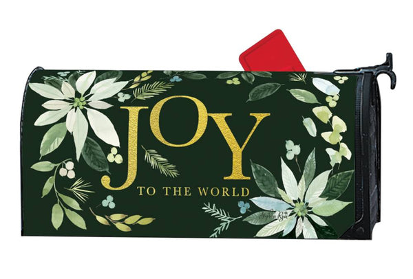 Poinsettia Joy OS MailWrap