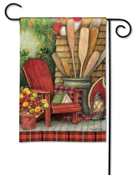 Fall Relaxation Garden Flag