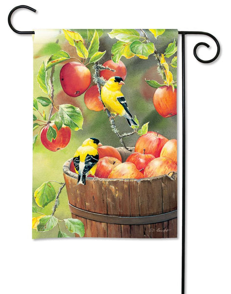 Apple Harvest Friends Garden Flag