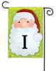 Jolly St. Nick Mono I Garden Flag