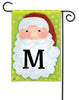 Jolly St. Nick Mono M Garden Flag