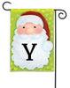 Jolly St. Nick Mono Y Garden Flag