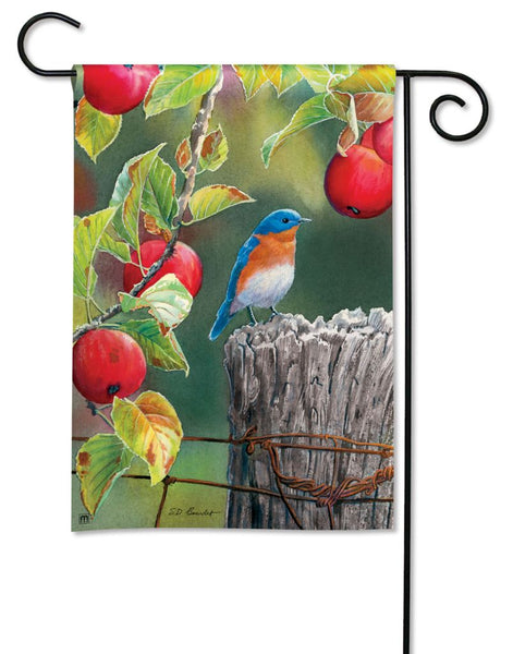 Orchard Bluebird Garden Flag