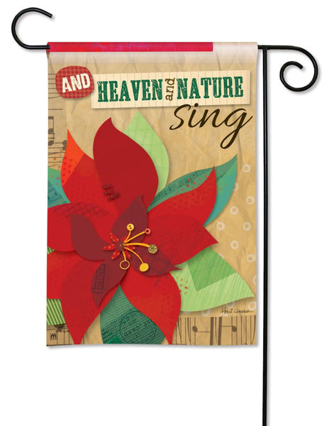 Heaven and Nature Sing Garden Flag