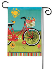 Summer Ride Garden Flag