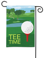 Play More Golf Garden Flag