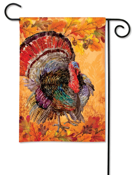 Proud Turkey Garden Flag