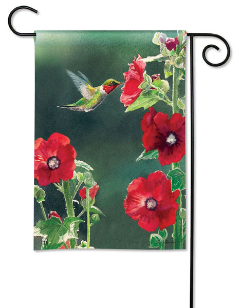 Hummingbird Delight Garden Flag