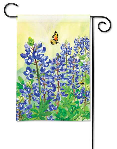 Bluebonnet Dream Garden Flag