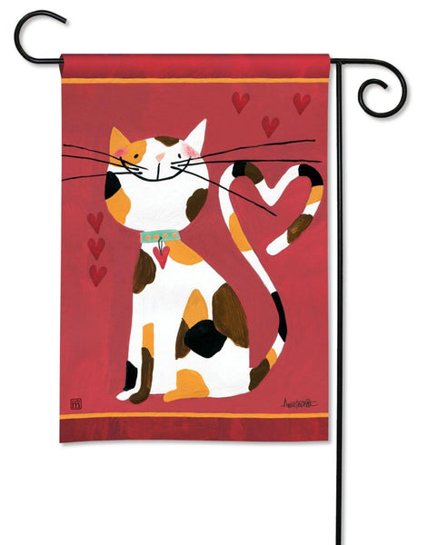 Sweet Kitty Garden Flag