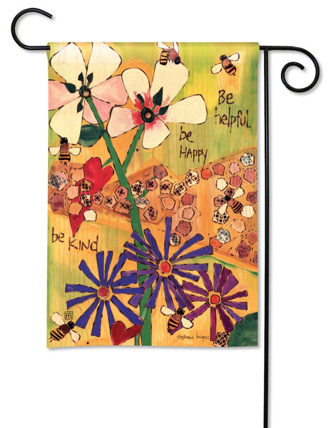 Bee-lieve in Beauty Garden Flag