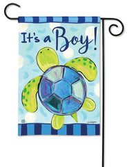Sea Turtle - It's a Boy Garden Flag