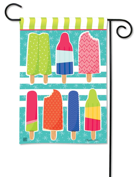 Ice Cream and Popsicles Garden Flag