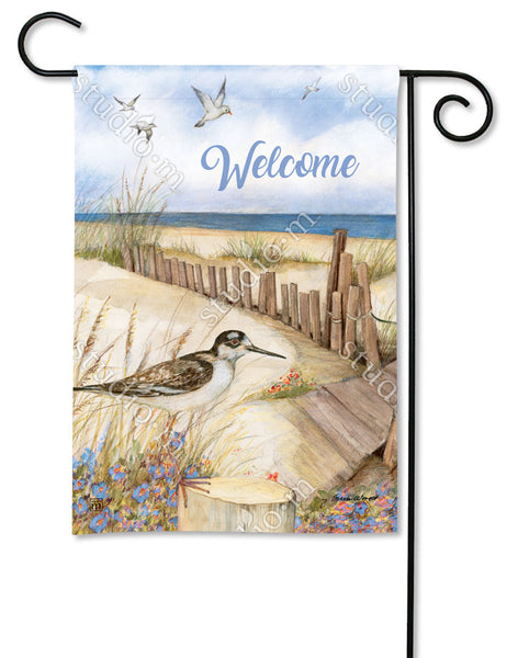 Down to the Beach Garden Flag