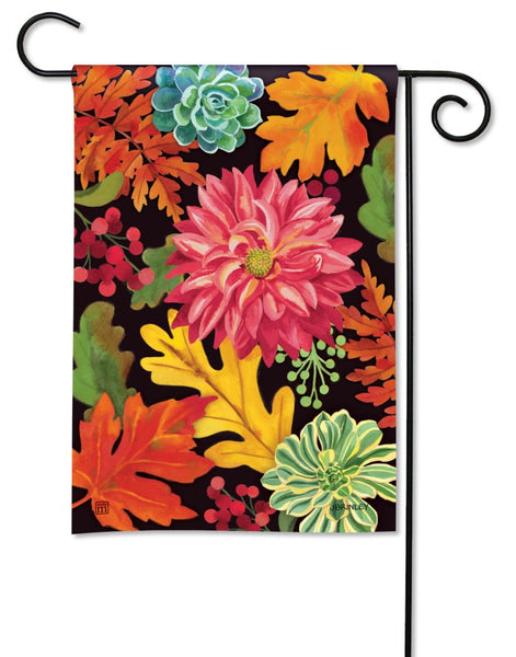 Vibrant Autumn Mix Garden Flag