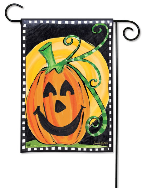 Halloween is Here Garden Flag