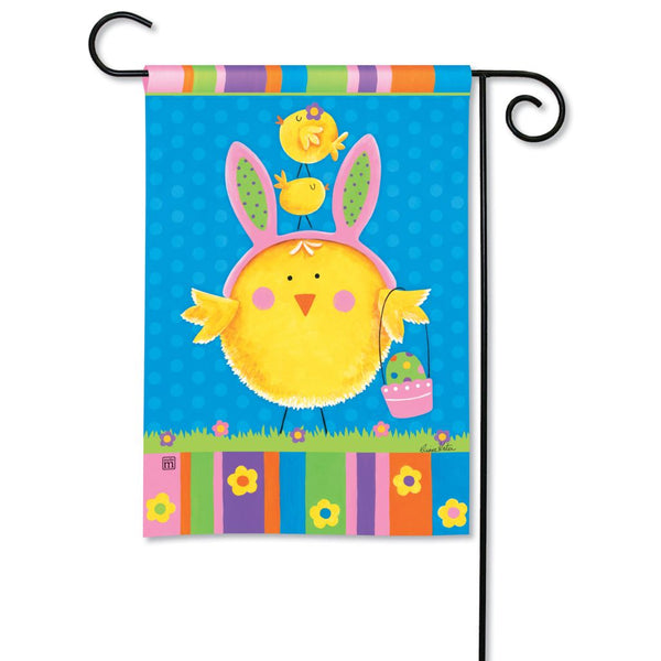 Easter Chicks Garden Flag