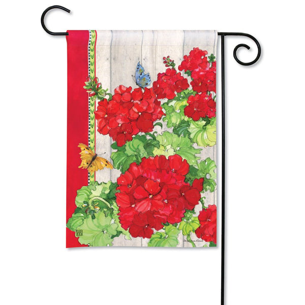 Ladies in Red Garden Flag