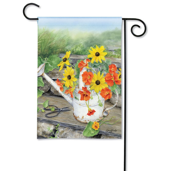 Sunshine and Water Garden Flag