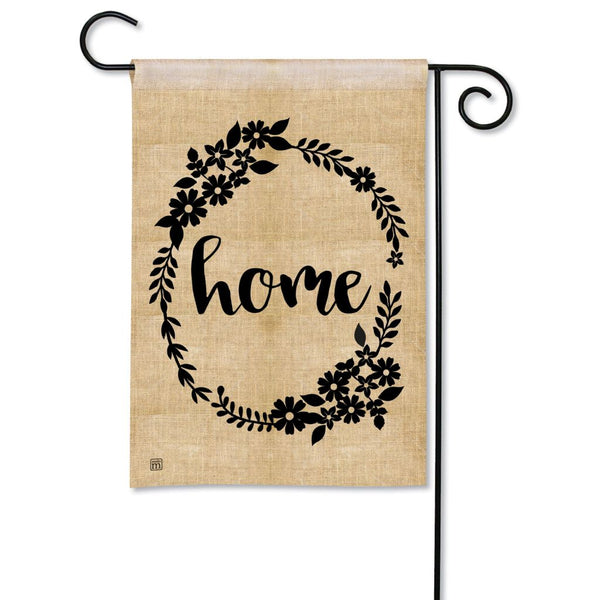 Rustic Home Garden Flag
