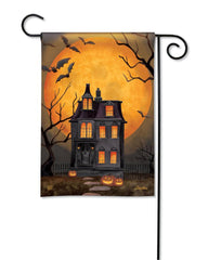 Dark Manor Garden Flag
