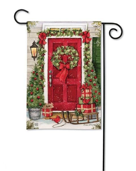 Christmas Wishes Garden Flag