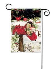Christmas Delivery Garden Flag