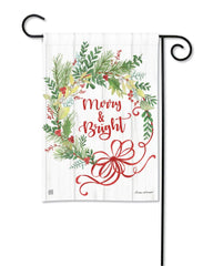 Winterberry Garden Flag