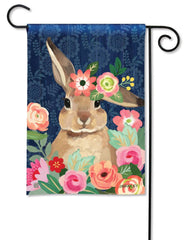 Bunny Bliss Garden Flag