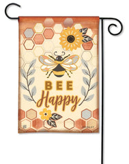 Honey and Hive Garden Flag