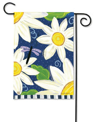Daisy Blues Garden Flag