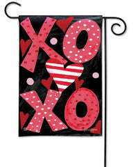 Hugs and Kisses Garden Flag