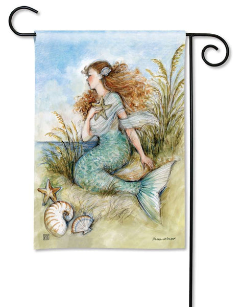 Mermaid Song Garden Flag