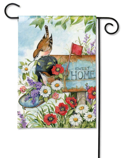 Sweet Home Garden Flag