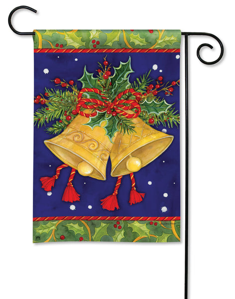 Christmas Bells Garden Flag