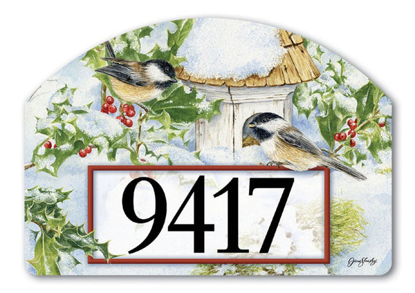 Chickadee Welcome Yard DeSign