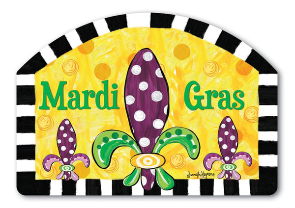 Mardi Gras Fun Yard DeSign