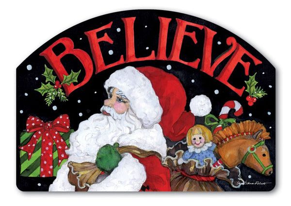 Believe in Santa Yard DeSign
