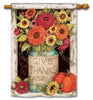 Fall Mason Jars Standard Flag