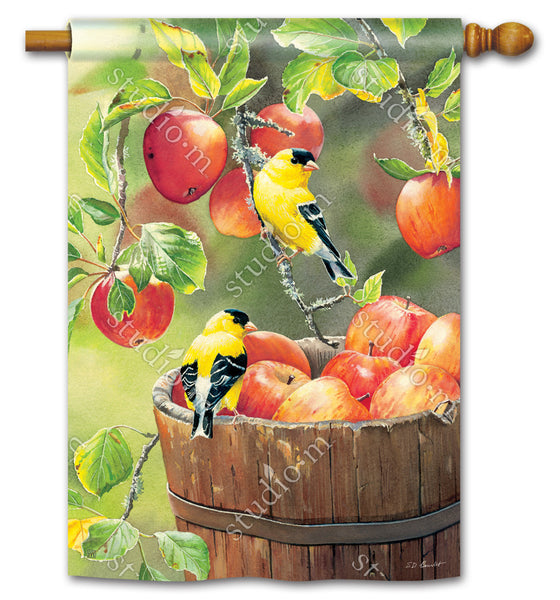 Apple Harvest Friends Standard Flag