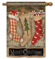 Christmas Stockings DS Standard Flag