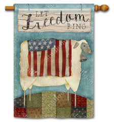 Freedom Sheep Standard Flag