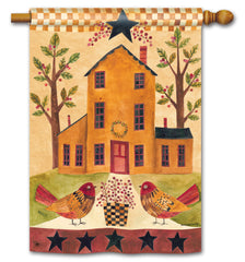 Bird Homestead Standard Flag